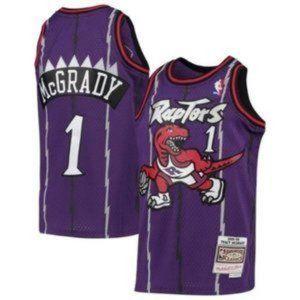 Nike Toronto Raptors Tracy McGrady Mitchell Jersey